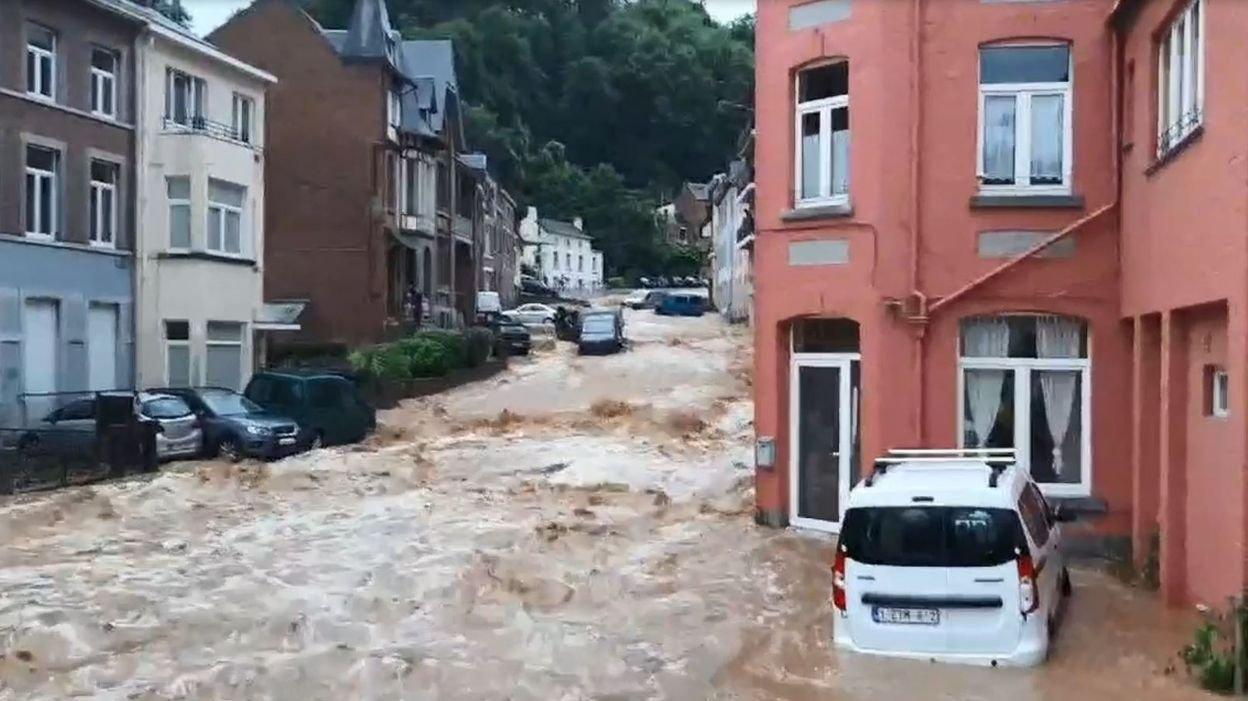 La Belgique sous les eaux les 14, 15 et 21 juillet 2021 210725110700458715