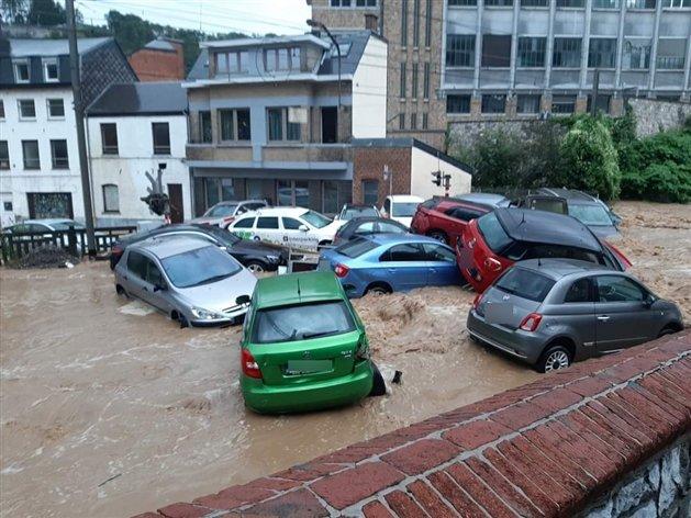 La Belgique sous les eaux les 14, 15 et 21 juillet 2021 210725111334439633