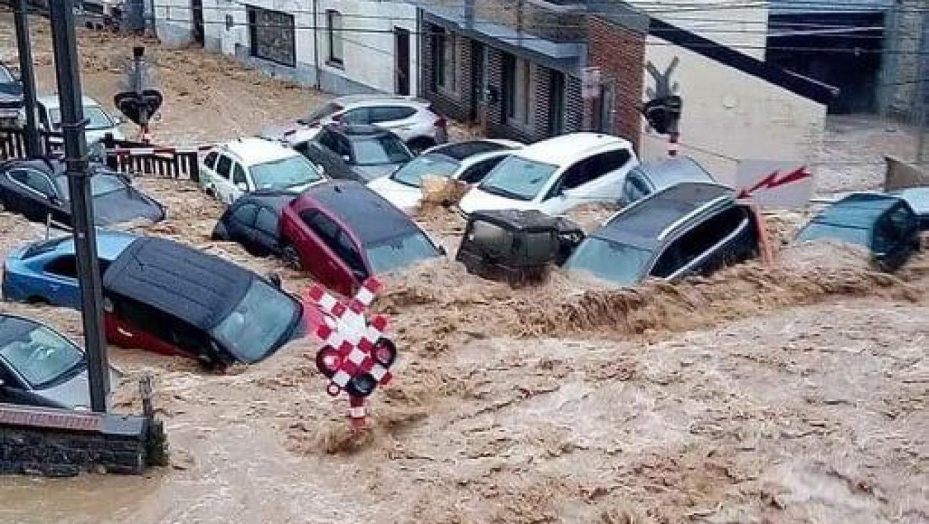 La Belgique sous les eaux les 14, 15 et 21 juillet 2021 21072511160697275