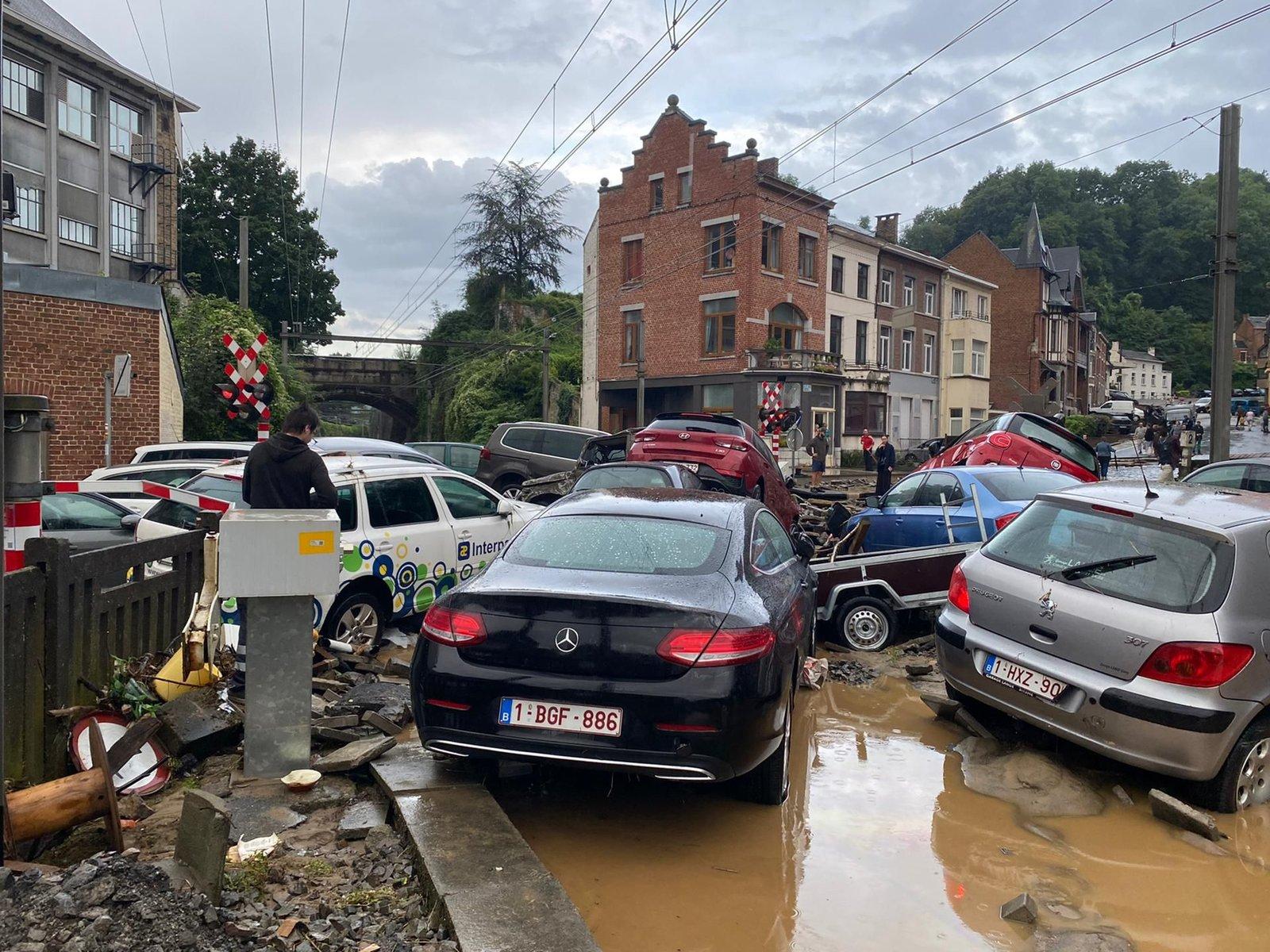 La Belgique sous les eaux les 14, 15 et 21 juillet 2021 210725112542163022