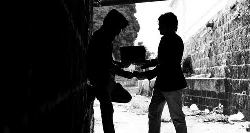 Économie souterraine à Kotios.