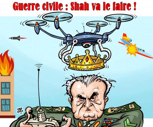 Affiche de propagande des médias révolutionnaires.