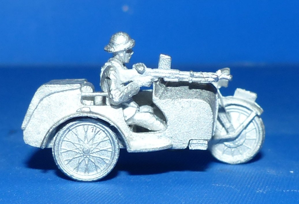 side car gnome rhone en métal 1/72 210808060904798963