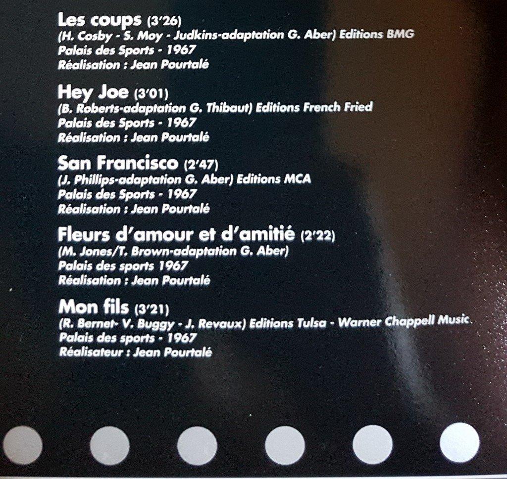 Captation video Hey Joe Palais des Sports 1967  210810121913348407