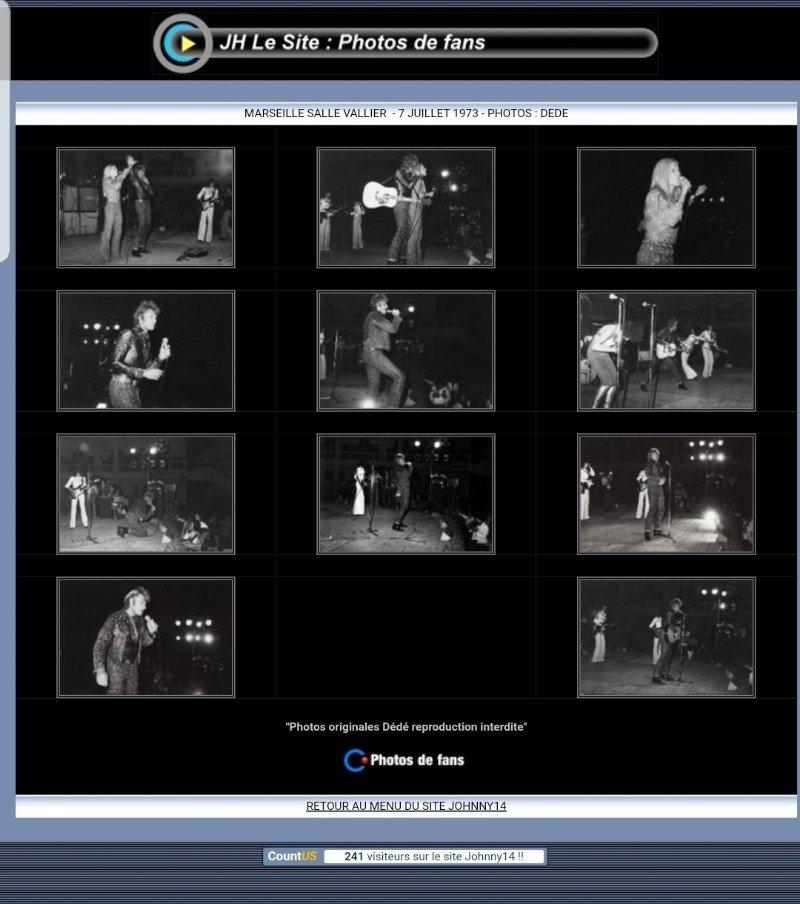 LES CONCERTS DE JOHNNY 'MARSEILLE 1973' 210810124801506305