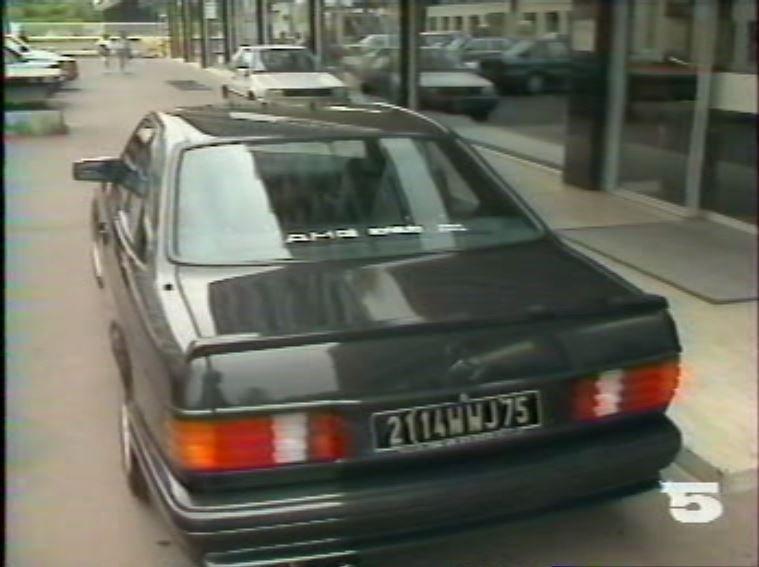 MERCEDES 560 SEC AMG DE JOHNNY HALLYDAY ( 1988 ) 210814025653617983