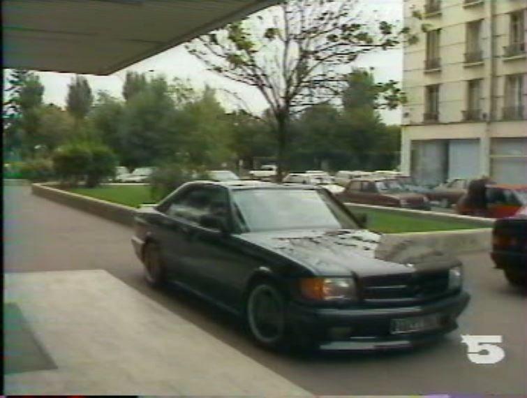 MERCEDES 560 SEC AMG DE JOHNNY HALLYDAY ( 1988 ) 210814025653858089