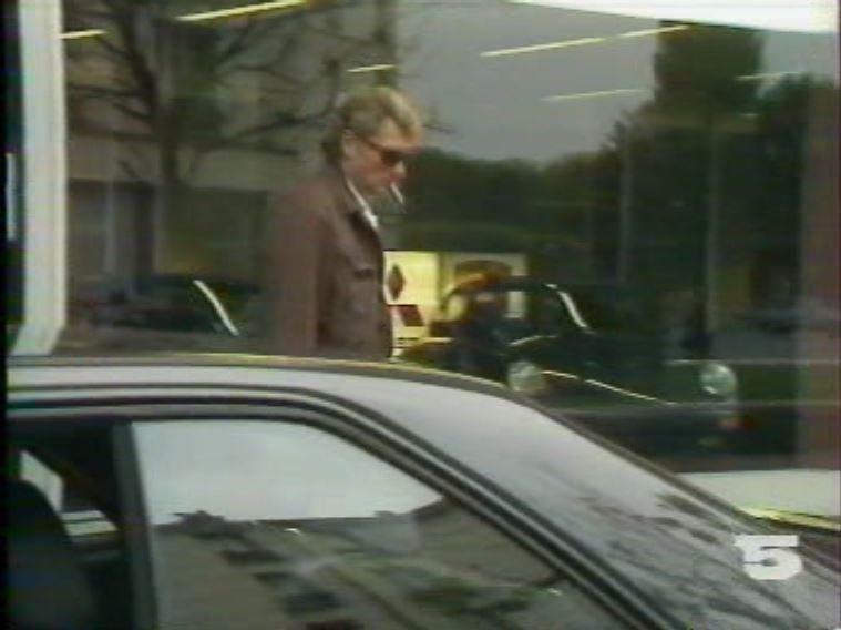 MERCEDES 560 SEC AMG DE JOHNNY HALLYDAY ( 1988 ) 210814030706458781