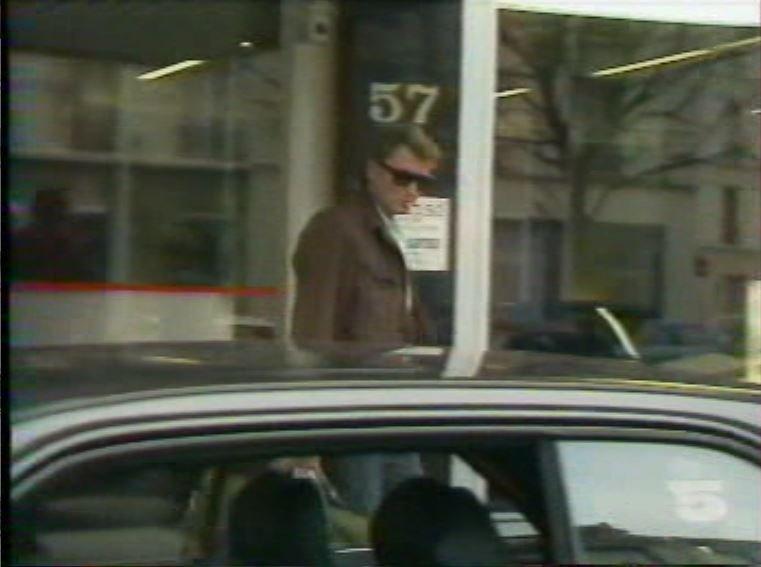 MERCEDES 560 SEC AMG DE JOHNNY HALLYDAY ( 1988 ) 210814030706713059