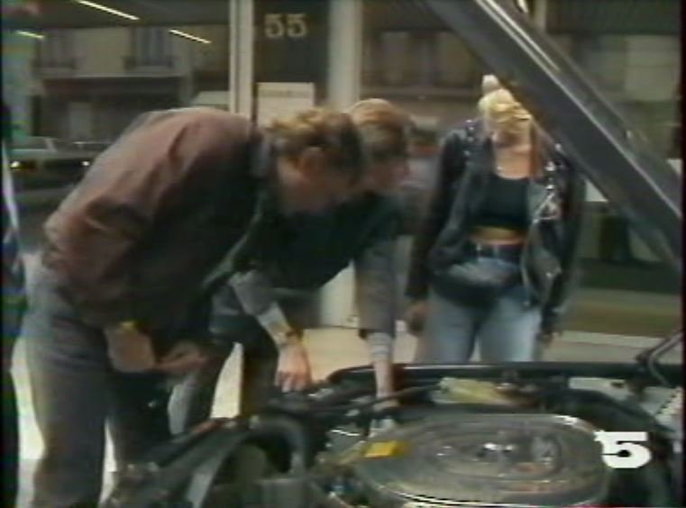 MERCEDES 560 SEC AMG DE JOHNNY HALLYDAY ( 1988 ) 210814031251730599