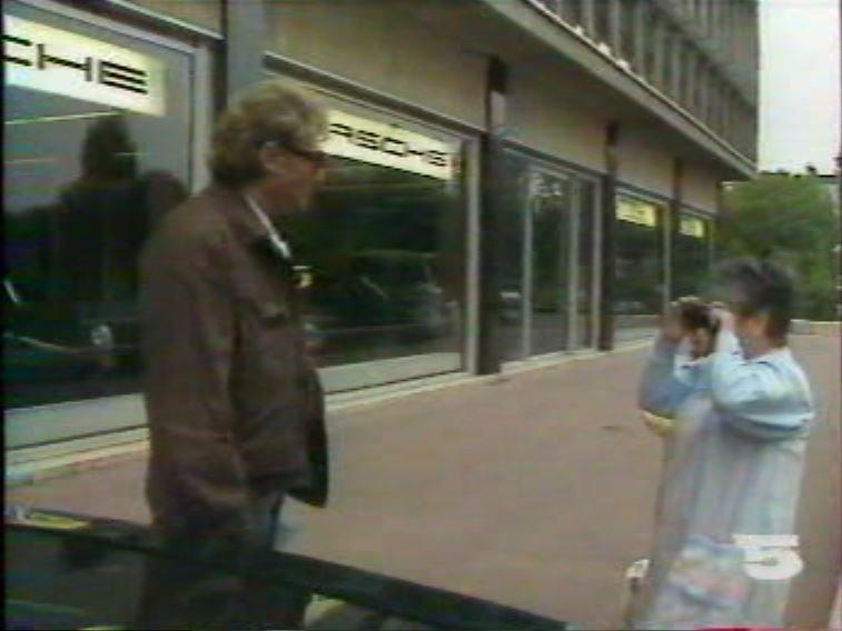 MERCEDES 560 SEC AMG DE JOHNNY HALLYDAY ( 1988 ) 21081403125212927