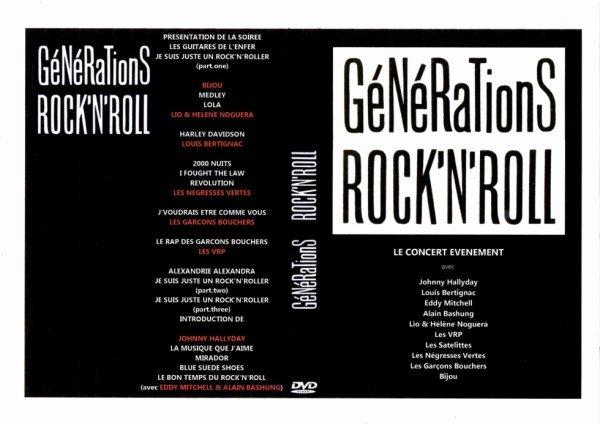 LES CONCERTS DE JOHNNY 'GENERATION ROCK N ROLL, PALAIS DES SPORTS 1989' 210822014959647480