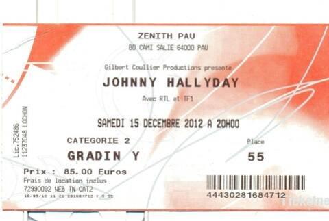 LES CONCERTS DE JOHNNY 'PAU 2012' 210906015310930649
