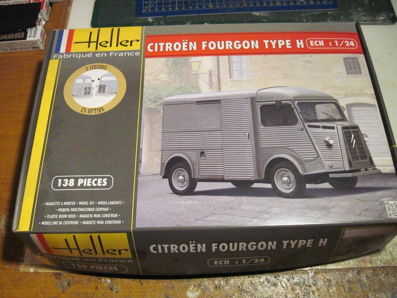 CITROEN type H 1/24 HELLER 210919075553605356